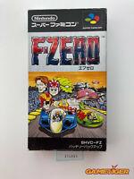 F-ZERO Nintendo Super Famicom SNES SFC JAPAN Ref:314905