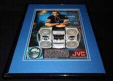 Warren G 2003 JVC Tower of Power Framed 11x14 ORIGINAL Advertisement