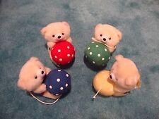 Set of 4 Teddy Bears Craft Baby Mobile