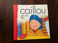 CAILLOU and the rain - BRAND NEW BOOK