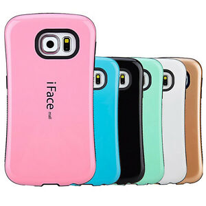 iFace Gel Shock-Absorbing Shockproof Bumper Cover Case Samsung S7/S7 Edge/S8/S8+