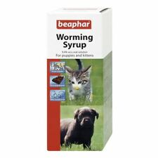 Beaphar Worming Syrup Dewormer Treatment for Puppies and Kittens 45ml
