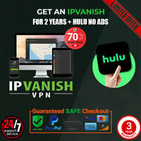 IP Vanish VPN + HULU Showtime NO ADS 3 YEARS Warranty 4 devices⭐NOT SHARED