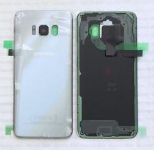 Original Akkudeckel Samsung Galaxy s8+ Plus G955F silber black  B-Cover