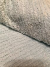 Soft terry chenille Light Blue fabric 60� Wide X 47�