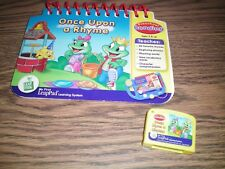 Leap Frog My First Leap Pad Once Upon a Rhyme book & Cartridge