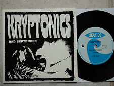 "Kryptonics – bagno settembre 7"" single Australia Seaside – RIP 1"
