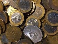 150 Gramm Restmünzen/Umlaufmünzen Dominikanische Republik