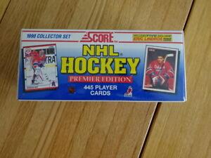 RARE SEALED SET OF 1990 SCORE NHL HOCKEY TRADING CARDS SET!