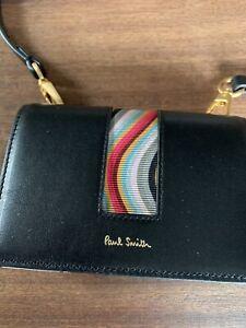 Paul Smith Swirl Leather Purse Detatchable Strap Bnwt £425 New 🌈🌈