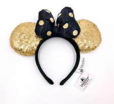 Disneyland Paris Is Magical Cute Gift Mickey Gold Minnie Mouse Ears Cos Headband