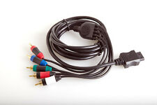 COMPONENT CABLE BLACK V2 FOR WII ASD842 - NEW OPENED PACKAGE