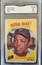 (Bronze) Grab Bag, willie mays 1959 GMA 2! Low Price, Vintage