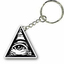 09ec6e198f9 Keychain key ring keyring car masonic freemason illuminati eye of providence