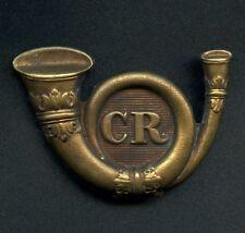 """Ireland Carlow Rifles Regiment Cap Badge """"Circa 1880"""" 66 mm x 46 mm"""