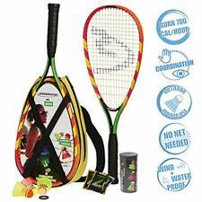 S600 Set - Original Speed Badminton / Crossminton Starter Including 2 Rackets, 3
