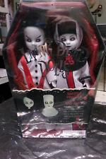 Living Dead Dolls Sinister Minister & Bad Habit. New in original shrink-wrap