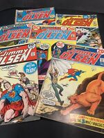 DC Comic Book Lot Superman's Pal Jimmy Olsen, 6 Books Readers Copies 1970's 154