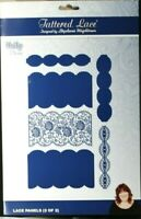 Tattered Lace UNITY Lace Panels (2 of 2) Die Set of 6 x Dies 464702 A4+ FREE P&P