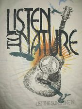 """Lucky Brand """"Listen to Nature . Let the Sunshine In"""" (Lg) T-Shirt w/ Tags"""
