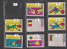 Learn The Game World Cup 1970 Anglo Confectionery...Pick your own