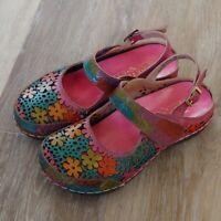 L'ARTISTE Spring Step Aldola Slingback Shoes Size 36 (US 5.5/6)