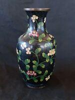 "Antique Chinese cloisonne vase ca. 1890', 8"""