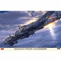 HASEGAWA 1/72 Heinkel He111Z-2 ZWILLING w/Bv246 HAGELKORN Kit w/ Tracking NEW