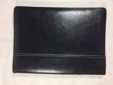 Maroo Premium Black Leather Folio Case for Microsoft Surface 3