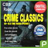 CBS CRIME CLASSICS - OLD TIME RADIO SHOW - 50 FULL SHOWS - DIGITAL DOWNLOAD