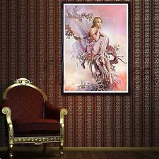DIY Painting Angel Butterfly Girl Diamond Embroidery Cross Stitch 5D Diamond  TH