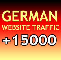 +15000 deutsche Website Aurufe (7 Tage/Days) Organic target german web traffic