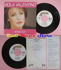LP 45 7'' VIOLA VALENTINO Verso sud Traditi 1984 italy PARADISO 10554 cd mc dvd