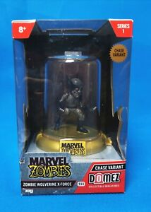 Domez Marvel Zombies - Zombie Wolverine X-Force *Chase Variant* Series 1 - RARE