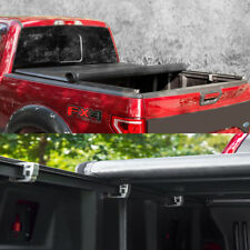 "Lock & Soft Roll Up Tonneau Cover For 2004-2014 Ford F-150 With 6.5"" / 78"" Bed"