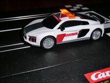 Ghostcar Digital 143 + 132 Dec Safetycar Pace car Audi R8 V10 + Blinklicht - NEU