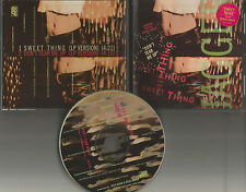 Rolling Stones MICK JAGGER Sweet thing /Don't tear w/ STICKER PROMO DJ CD single