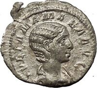 Julia Mamaea Silver Ancient Roman Coin Rare Juno wife & sister of Jupiter i54156