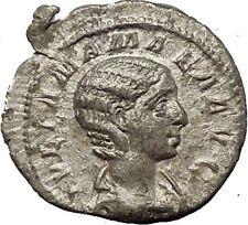 Julia Mamaea Silver Ancient Roman Coin Rare Juno wife & sister of Jupiter i54156