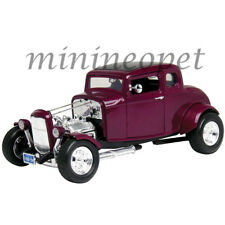MOTORMAX 73172 HOT ROD 1932 32 FORD COUPE 1/18 DIECAST MODEL CAR BURGUNDY