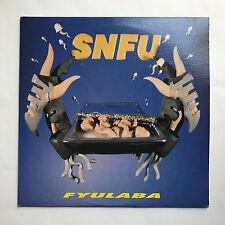 SNFU - FYUALABA * VINYL LP * MINT * FREE P&P UK * EPITAPH - 86472-1 * PUNK *