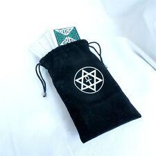 Velvet Tarot Card Bag Case Pouch Pagan Wicca Divination Altar Hexagram Cute Gift