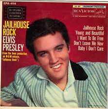 PRESLEY, Elvis  (Jailhouse Rock // I Want 2B Free // etc..)  EP COVER ONLY!!!