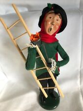 Byers Choice The Carolers 1993 The Lamp Lighter Man With Ladder And Torch