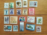 lot N°131 - 20 timbres POLOGNE