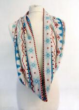 Bufandas y pañuelos de mujer sin marca color principal azul