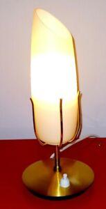 Rockabilly Tischlampe, Stilnovo Lampe, 50er,Vintage, Nachttischlampe