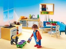 Playmobil - Puppenhaus - Einbauküche mit Sitzecke, Neu, OVP, 5336