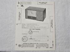 Sams Photofact Repair Manual Set 567 #18 Zenith  mod.F728C/ 1962
