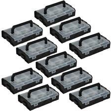 Sortimo L-BOXX Mini schwarz / Deckel transparent Industrial Line 10er Set